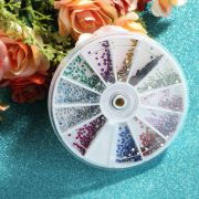 Strass multiple couleur