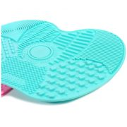 Brosse pour nettoyer pinceau maquillage silicone