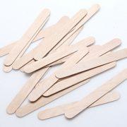 baton epilateur bois