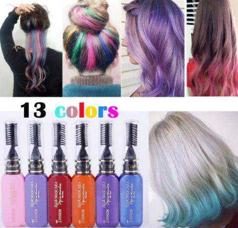 coloration temporaire cheveux