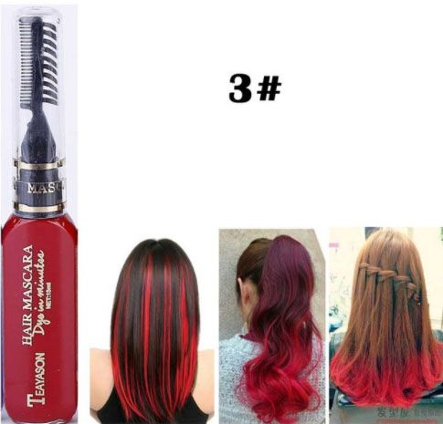 coloration temporaire cheveux diy hair mascara. Black Bedroom Furniture Sets. Home Design Ideas