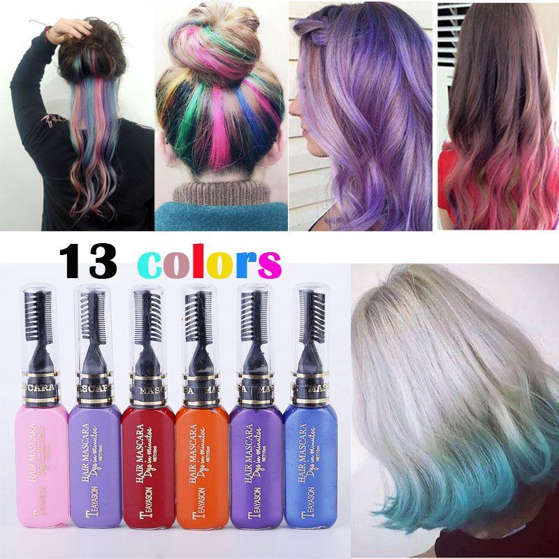 Différents styles de coloration cheveux