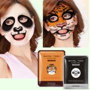 Masque beauté animaux tigre, panda, chien, mouton