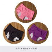 noir rose violet