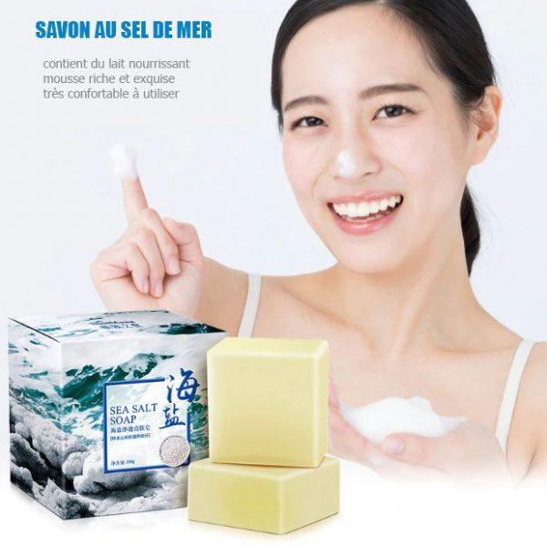 savon pour acné