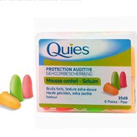 Boules Quies de Protection Auditive - Pack de 6