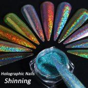 poudre holographique